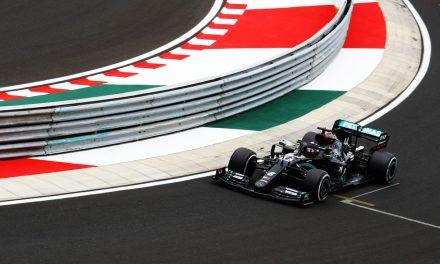GP da Hungria: Hamilton faz melhor tempo no primeiro treino, apenas 0s086 à frente de Bottas