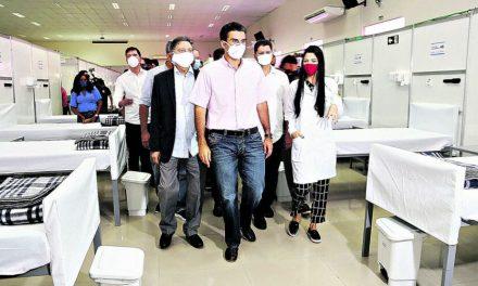 Helder entrega Hospital de Campanha em Altamira