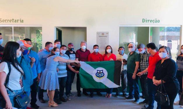 Prefeitura de Moju inaugura mais uma escola municipal na zona rural