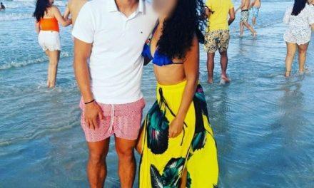 Às vésperas do confinamento na Curuzu, artilheiro do Paysandu é visto em praia, sem máscara