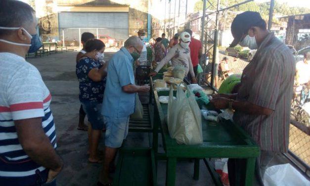 Feira e delivery garantem fornecimento de ostras e farinha