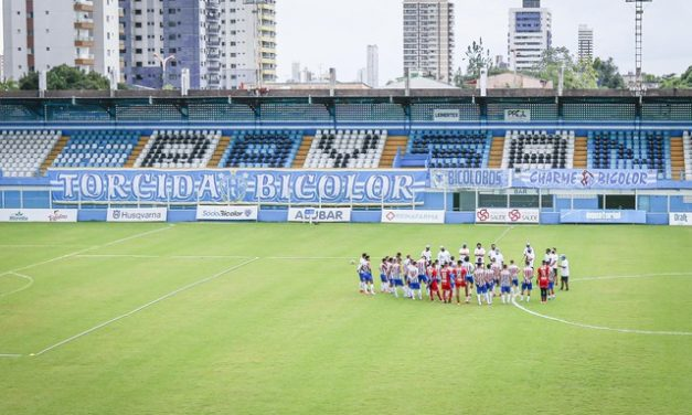 """""""Nada vai nos separar"""": Paysandu convoca torcidas, que expõem faixas de apoio na Curuzu"""