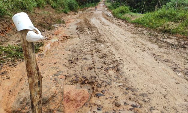 Patrol estoura tubulação deixa Bragança sem abastecimento de água