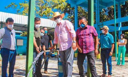 Prefeitura inaugura mais um Sistema de Abastecimento de Água na Zona Rural