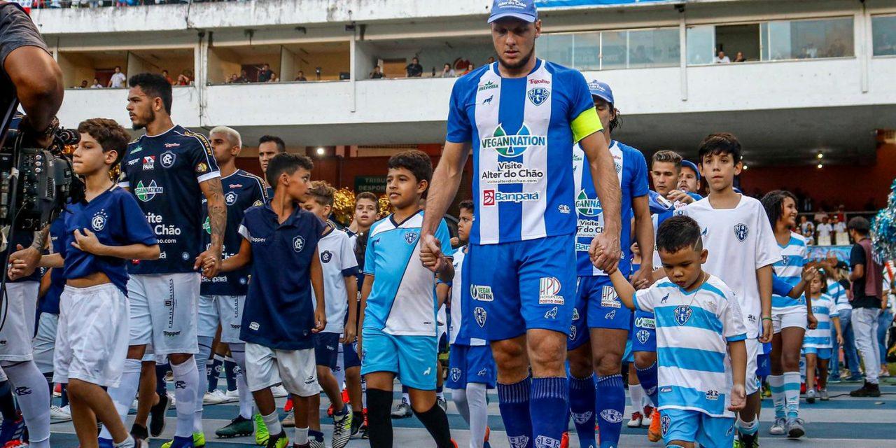Sem público no estádio, clubes paraenses se reinventam para buscar arrecadação