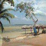 Banhista é ferido por rabeta na praia do Caripi, em Barcarena