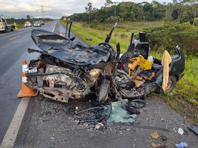 Acidente deixa 5 mortos em rodovia de SP e motorista é preso por suspeita de embriaguez