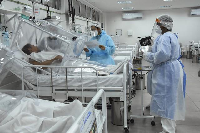 Número de leitos exclusivos para pacientes com Covid-19 é reduzido pela metade na rede pública do AM