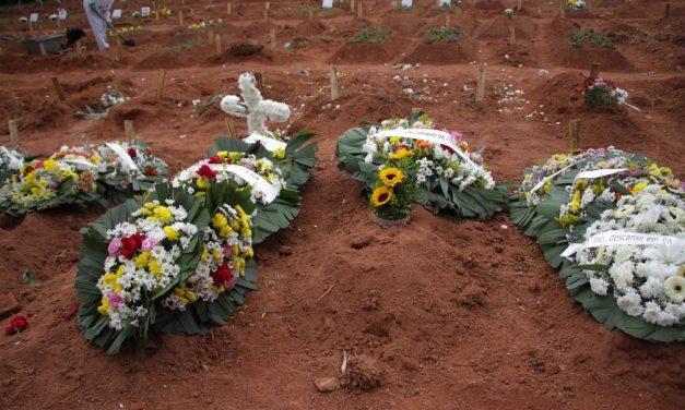 Em pouco mais de um mês, América Latina passa de 100 mil para 200 mil mortes por Covid-19