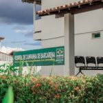 Prédio do Hospital de Campanha, doado pela Albras, permanece de prontidão
