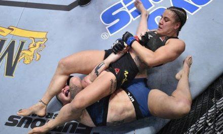 "Próxima desafiante, Jennifer Maia prevê ""espetáculo de luta"" contra Valentina Shevchenko"