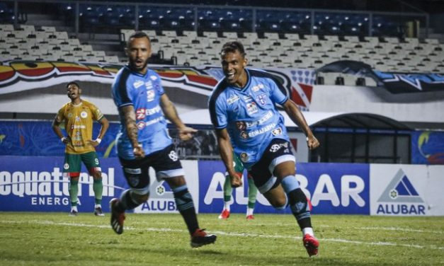 """""""Muito feliz"""": Mateus Anderson celebra bom início no Paysandu"""