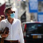 Taxa de contágio por coronavírus está diminuindo na Inglaterra