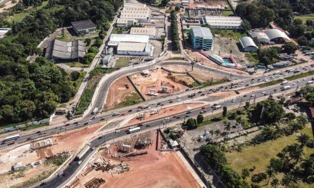Desvios são instalados nos dois sentidos da rodovia BR-316, em Ananindeua