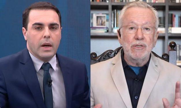 "Rafael Colombo enquadra Alexandre Garcia sobre cloroquina: ""Meus amigos morreram à toa?"""
