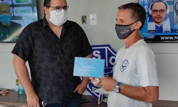 Núcleo de Comunicação do Paysandu recebe o nome de Ivan Menezes, massagista do clube