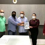 Prefeitura dá entrada em Cartório para regularização fundiária da Pedreirinha no bairro Imperador