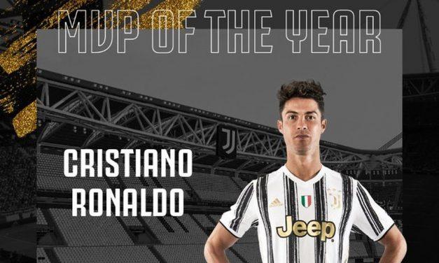 Cristiano Ronaldo é eleito o melhor jogador da temporada pelos torcedores da Juventus