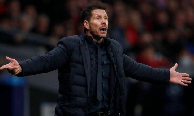 Jogo da Champions fica em risco após casos de covid-19 no Atlético de Madrid