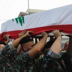 Libaneses enterram seus mortos e esperam novo governo
