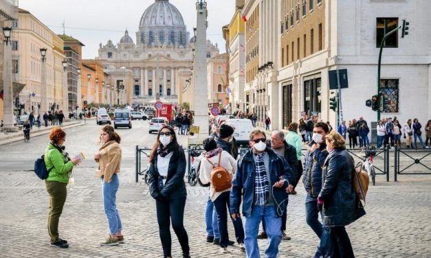 Itália tem mais 523 casos e 6 óbitos em pandemia