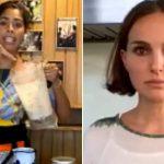 Bela Gil cozinha com Natalie Portman e se impressiona com sua agilidade