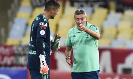 "Intérpretes e líderes, Diego Alves e Filipe Luís se tornam ""auxiliares"" de Dome no Flamengo"