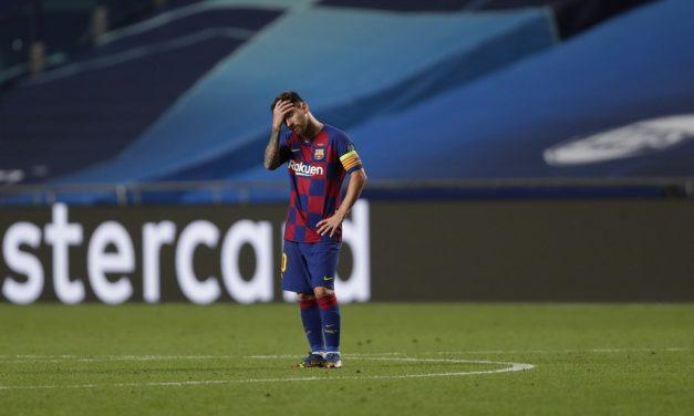 """Rádio catalã: em reunião com Koeman, Messi diz que se vê """"mais fora do que dentro"""" do Barcelona"""