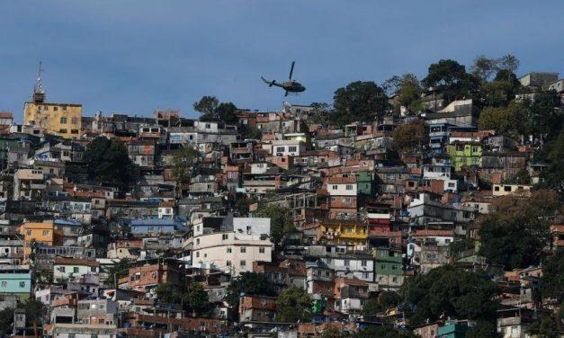 Crime domina 1,4 mil comunidades do Rio