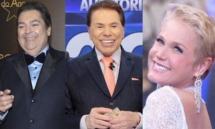 Faustão, Xuxa e Silvio Santos são recordistas na história da Globo