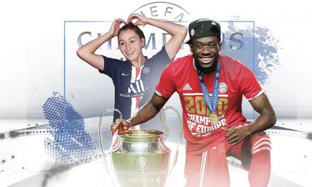 Casal Champions? Jordyn Huitema busca título pelo PSG e pode igualar namorado Alphonso Davies