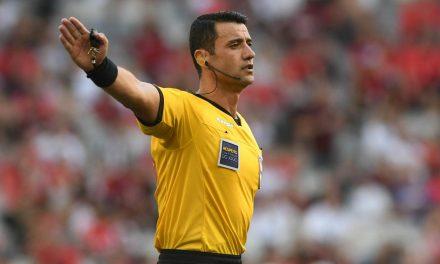 Especialista em VAR e novato no quadro FIFA: conheça o árbitro que vai apitar o Re-Pa de quarta-feira
