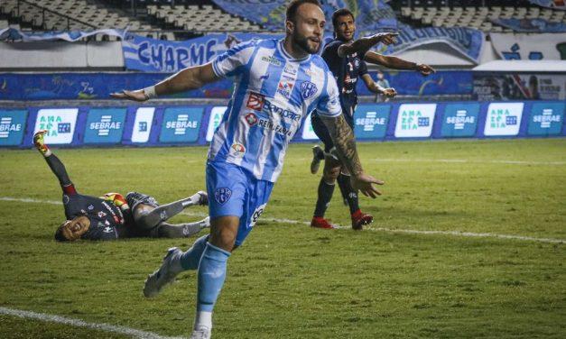 """Netinho celebra atuação no Re-Pa, mas revela sentimento na hora do gol: """"Senti falta da torcida"""""""