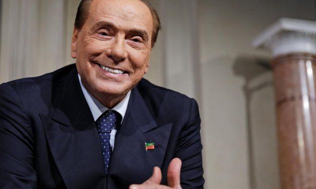 Berlusconi é internado 'por precaução' após testar positivo para covid-19