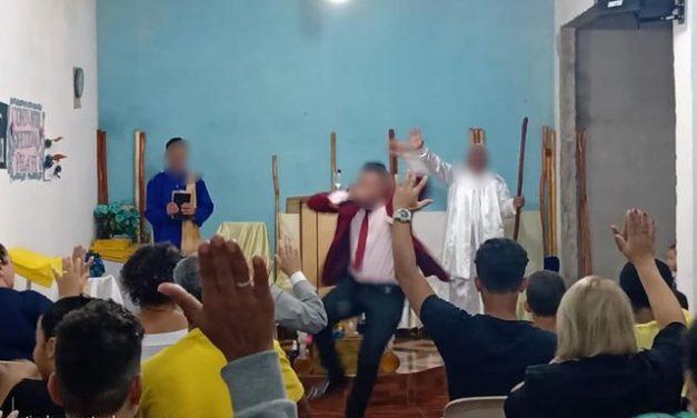 Pastor diz que 'praga não entra na igreja' em SP e fiéis ignoram Covid