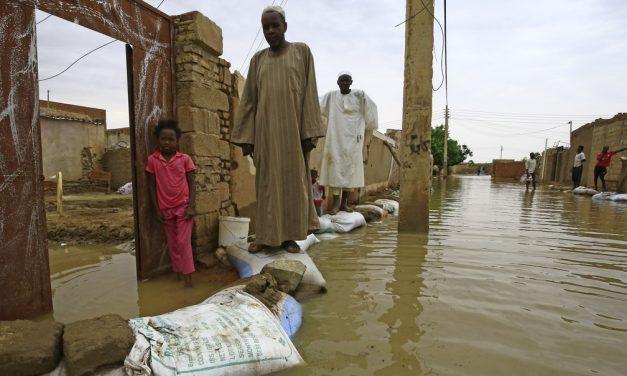 Sudão declara estado de emergência após inundações