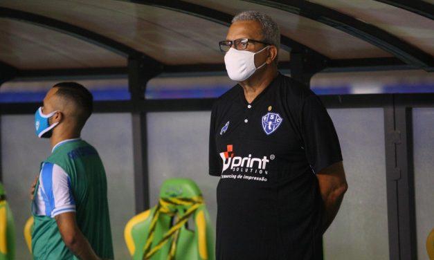 """Hélio garante Papão """"pra frente"""" em busca do 18º título: """"o mais importante da carreira"""""""