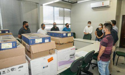 Equipamentos de informática são entregues pelo Governo do Estado para fortalecer agricultura familiar