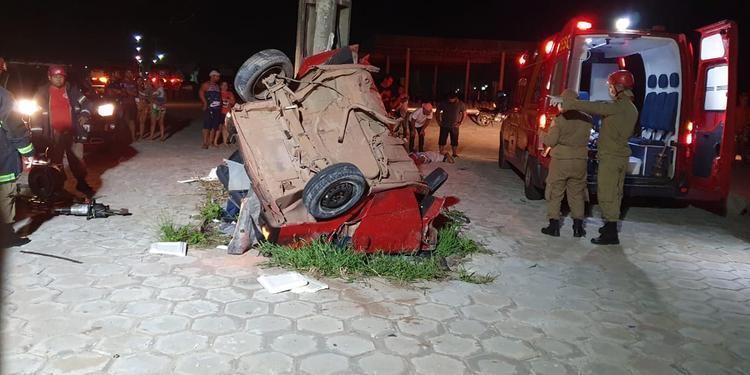 Acidente deixa dois mortos e três feridos na BR-316, em Castanhal
