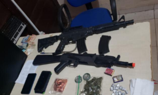 PM e PC prendem sete em Barcarena por suspeita de tráfico e direção alcoolizada