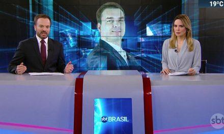 Prestes a deixar SBT, Sheherazade critica Flávio Bolsonaro ao vivo