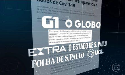 Brasil passa de 128 mil mortes por Covid-19, segundo consórcio de imprensa