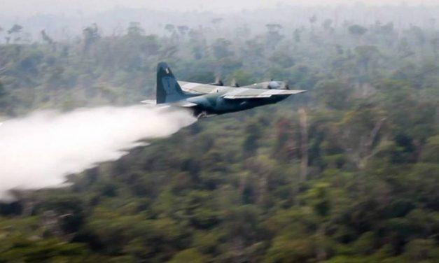 Avião da FAB é enviado ao PA para reforçar atuação do Exército contra queimadas