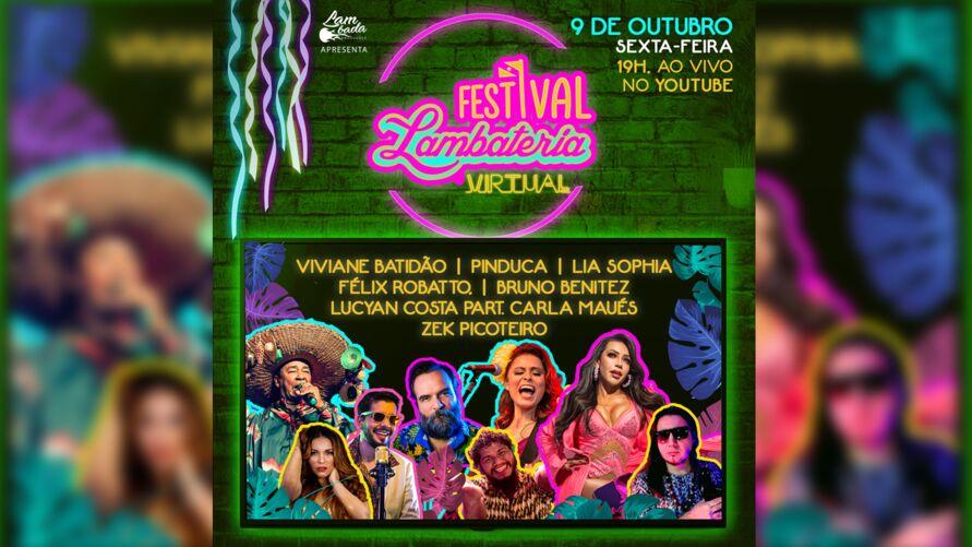 Festival Lambateria no Círio será realizado pelo Youtube. Veja atrações!