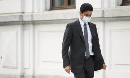 Nasser Al-Khelaifi, presidente do PSG, e Jerome Valcke, ex-secretário-geral da Fifa, vão a julgamento na Suíça