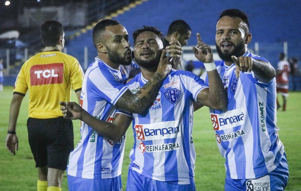 """Elielton festeja fim de jejum de gols pelo Paysandu: """"Que sejam os primeiros de muitos"""""""