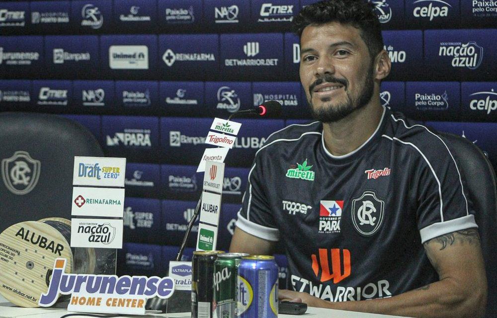 Depois de atacante, Remo anuncia a rescisão com volante para a sequência da temporada