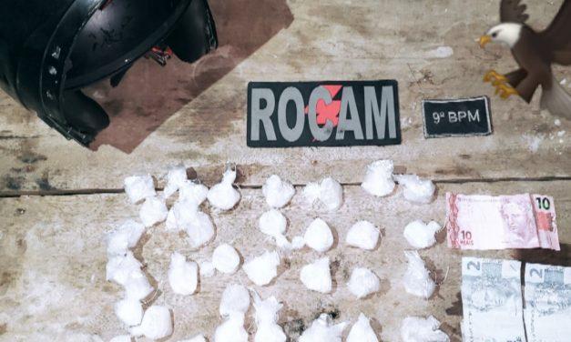 Rocam prende dupla suspeita de tráfico de drogas em Breves