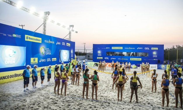Recheada de protocolos, volta do Circuito Nacional de vôlei de praia tem vitórias de duplas olímpicas