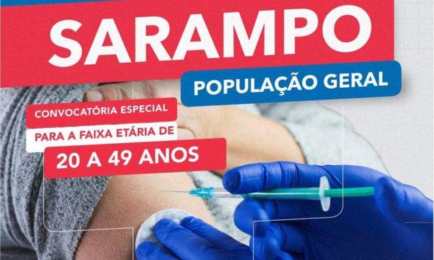 Maior parte dos casos de sarampo está entre pessoas de 15 a 39 anos